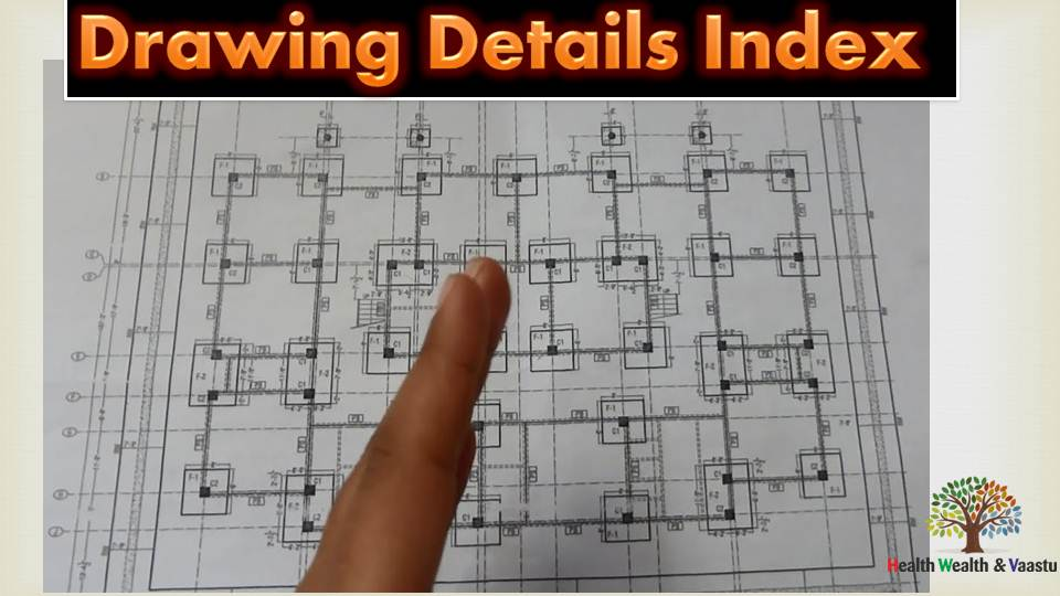 Drawing Details Index